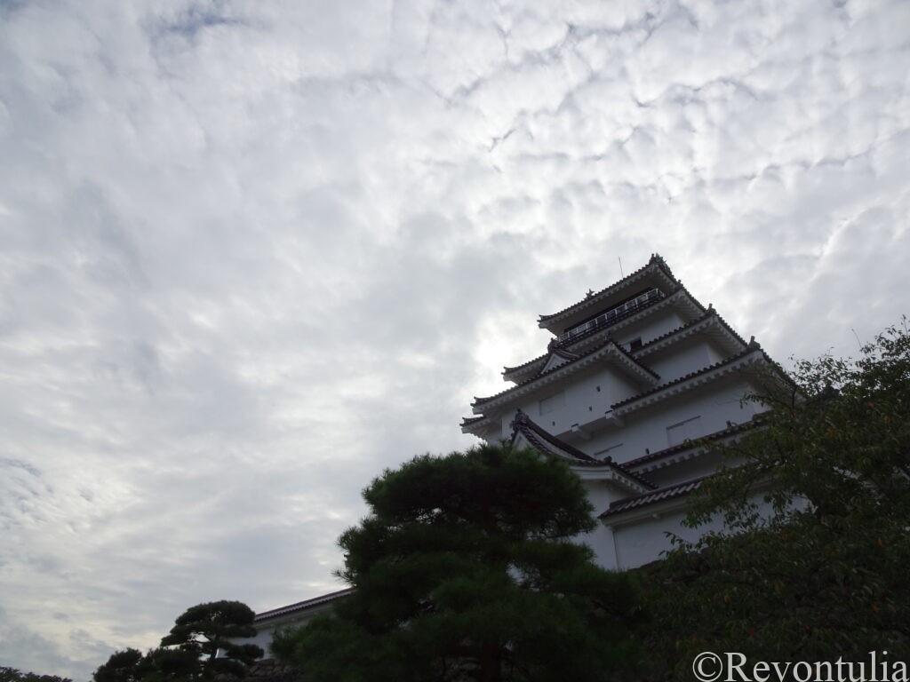 会津若松の鶴ヶ城