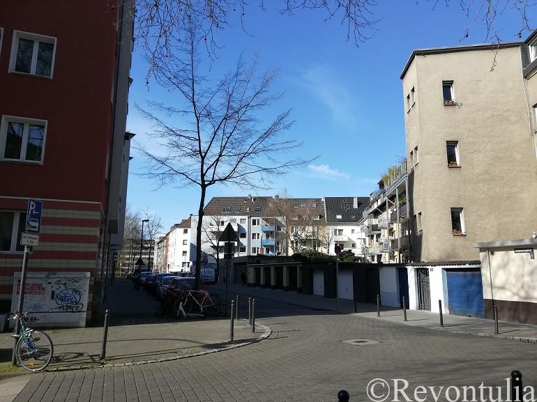 ドイツのケルンの住宅地