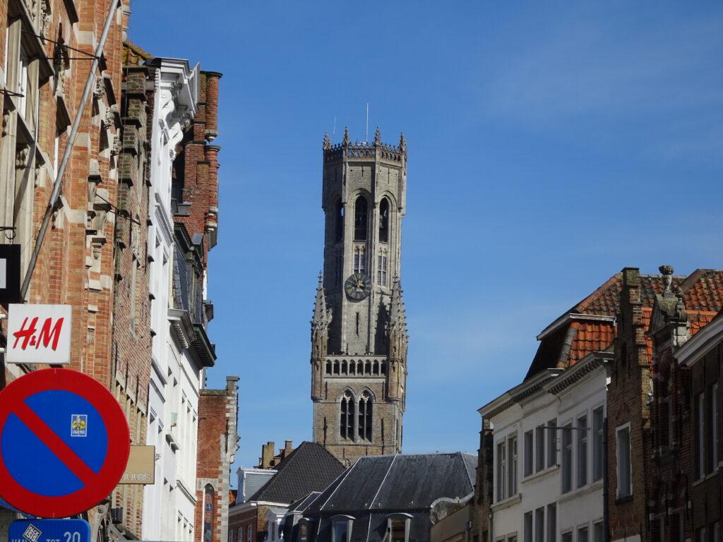 ベルギーのブルージュにて