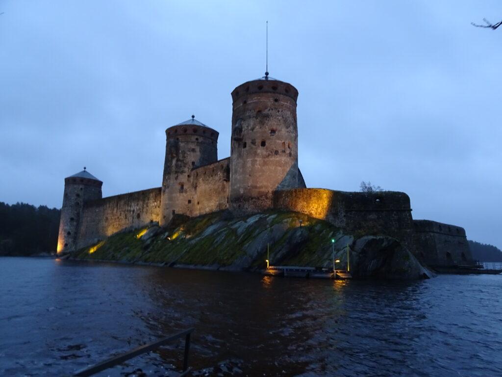 サヴォンリンナのオラヴィ城