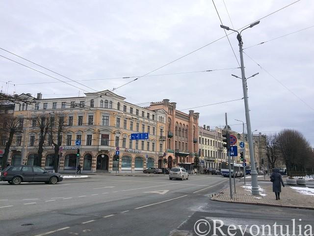 リガのメインストリート